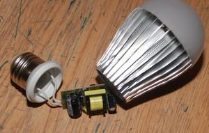 Как восстановить работу светодиодной лампы