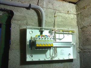 Как провести электричество в гараж металлический металлические конструкции гаражей