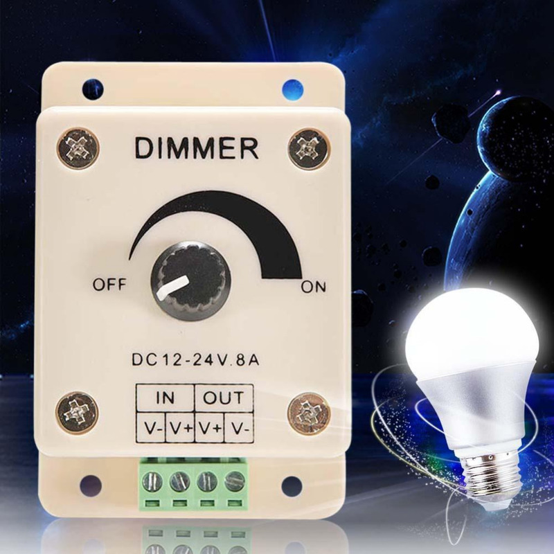 Схема и устройство регулятора яркости лампы накаливания