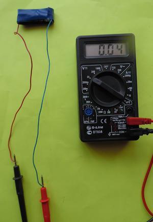 Низкий заряд у батарейки
