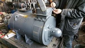 Применение тягового двигателя