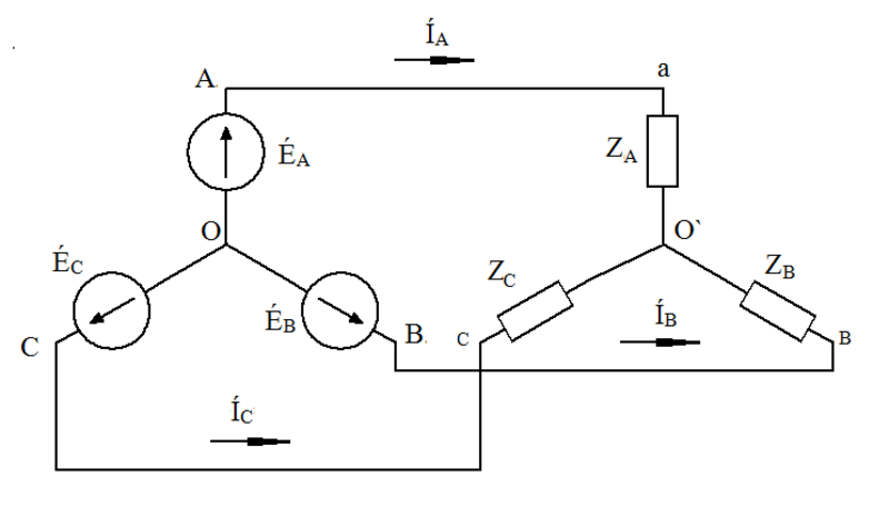 Резисторные цепи схема треугольник