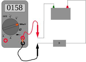 Напряжение в транзисторе