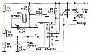 Компаратор напряжения схема