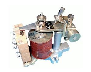 Конструкция электромагнитного реле напряжения