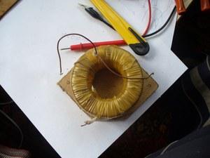 Тороидальный трансформатор картон