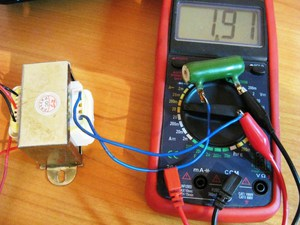 Прозвон трансформатора мультиметром
