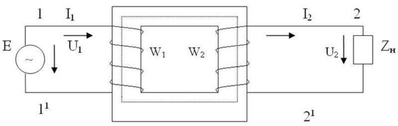 Однофазный трансформатор как работает