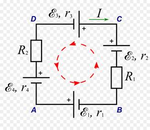 Закон ома формула
